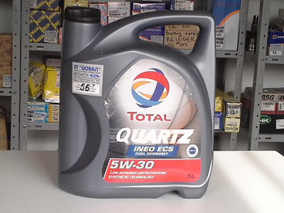 Моторно масло – Total Quartz